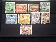 Antigua: 1938 - 51 Short set to 2/6d Used