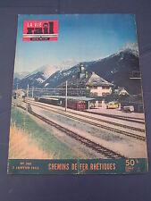 vie du rail 1953 380 Rhätische Bahn Arosa Cerdagne Err Laruns Miégebat Hourat vi