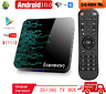 Android 10 Smart TV Box 2GB 16GB 4K lecteur multimédia 3D vidéo 2.4G 5GHz Wifi
