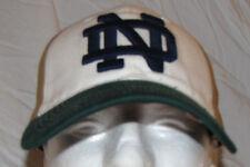MEN BASEBALL HAT CAP NOTRE DAME NCAA COLLEGE TOP OF THE WORLD OSFA IRISH FIGHTIN