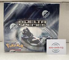 Pokemon 2006 EX Delta Species Booster Display / Box Vintage!!! Deutsch NEU&OVP
