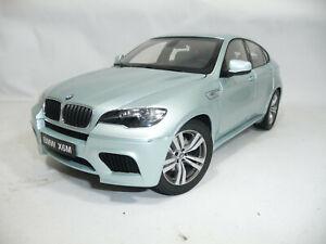 BMW X6 M E71 SILVER METALLIC 1:18 KYOSHO 08762S
