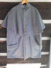 ~ GREATCOAT -- GRAY Wool CONFEDERATE Great Coat -- Civil War -- Size 44 -- NEW