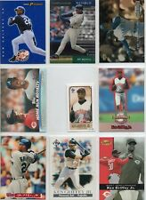 9 card Ken Griffey Jr. lot with inserts and more,all different.