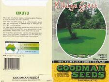 kikuyu lawn seed 100% kikuyu grass seed 2 x 40grams packs sows 40sqm