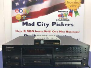 Pioneer PD-M701 6-CD Multi-Play Compact Disc Player Vtg Japan 1992 For Repair!
