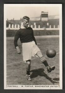 PATTREIOUEX tobacco Football Sporting events 1935 MANCHESTER UNITED  W Porter