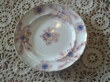 1840  Feather Pattern Transferware Staffordshire Plate Soft Paste - No marks