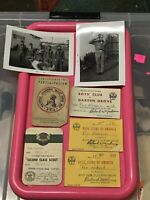 Vintage 1957 Boy Scout Of America Lot Pictures