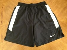 NIKE DRI-FIT Womens Black Athletic Running Shorts M - NWOT