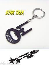STAR TREK NCC 1701 Key chain ENTERPRISE Black Collectible Comiccon spock Kirk