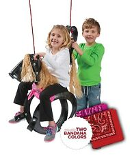 Pony Pal Horse Tire Swing New Playground Set Classic Outdoor Cowboy