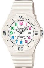 Casio LRW200H-7BV Women's White Resin Band 100M Sports Day Date Analog Watch