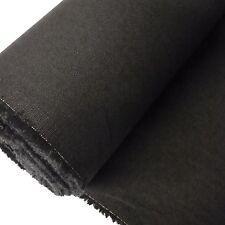 Black Herringbone Cotton Coutil Corset Bustier Fabric (Per Metre)