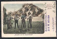 Deutsch Südwestafrika covers 1904 PPC Keetmanshoop to Toronto!