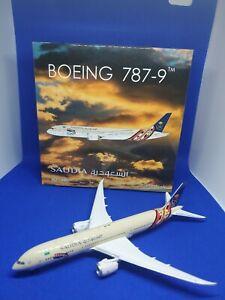 Saudia Boeing 787-9 HZ-ARF G20 Saudi Arabia 2020 JC Wings LH4SVA192 LH4192 1:400