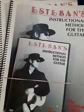 Esteban's Instructional Method for the Guitar, Books vol. 1 and 2, Dvd vol. 1
