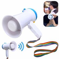 5W Mini Foldable Megaphone Microphone Horn Bull Loud Speaker Amplifier Bullhorn