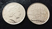 NEW ZEALAND 50 CENT 2016 QE II UNC COIN