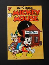 Walt Disney's Mickey Mouse #219 NM 1986  Gladstone High Grade Comic  UNREAD