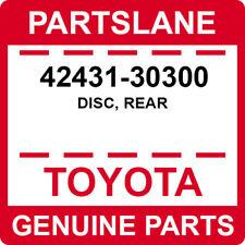 42431-30300 Toyota OEM Genuine DISC, REAR