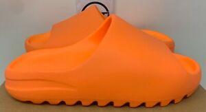 ADIDAS KANYE WEST YEEZY SLIDE SANDAL ENFLAME ORANGE GZ0953 8 foam runner boost