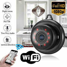 Home Watching Pets Tiny Spy Camera Audio Input Output Motion Detection HD Wifi