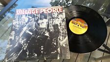 "Village People Self titled DEBUT 12"" LP Casablanca  NBLP7064 1977 VG+++"