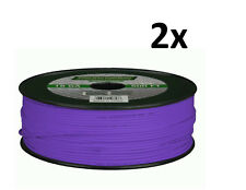 New listing Lot of 2 Metra Install Bay 18 Gauge 500 Ft Primary wire Purple 100% Ofc Copper