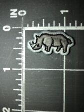 Rhinoceros Rhino Ecko Unltd. Est. 1993 Logo Patch Unlimited Established 93 Gray