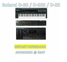 Roland D-50 D-550 D05 - Sound Patches + Cards / Banks Syx Collection – DOWNL0AD