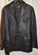 Men's-Knoles & Carter-Leather-Jacket-Coat-Blazer-Brown-2XL-XXL-NWOT