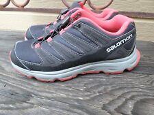 Salomon Synapse Black/Papaya Athletic Shoes Youth 4