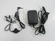 BLACKBERRY  PHONE CHARGER AND EARPHONES
