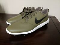 Nike Roshe G Tour Golf Shoes Waterproof Men Size 13  Olive Black  AR5579-200
