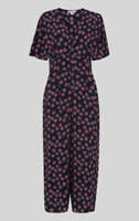 Whistles - Lenno Floral Jumpsuit - Multi - New With Tag - Size 12 - Women's