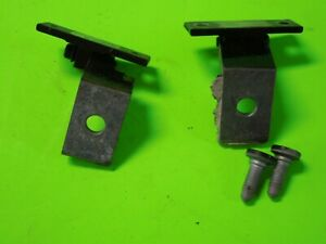 2010 BMW Z4 E89 PASSENGER SIDE DOOR HINGE LOWER  UPPER SET BOLT 09-16 10 11 12