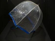 Vintage Plastic Bubble Umbrella 70'S Mod