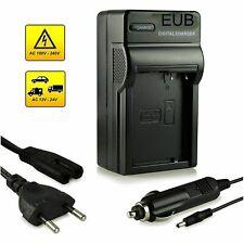 Carica Batteria CHARGER per Panasonic DMW-BLC12 LUMIX DMC-FZ200 G5 LEICA V-Lux 4