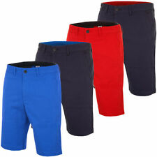 Cotton Blend No Pattern Big & Tall Flat Front Shorts for Men