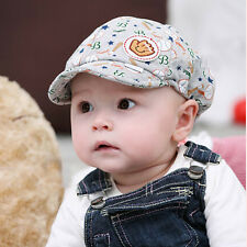 Toddler Infant Baseball Baby Boy Girl Cute Hat Peaked Beret Cotton Cap