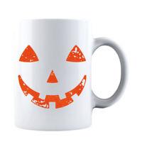 Vintage Jack O' Lantern Face Orange Pumpkin Halloween Mug Halloween Coffee Mug