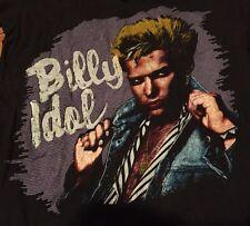 Rare Early 80's Billy Idol T-shirt M Punk Generation X