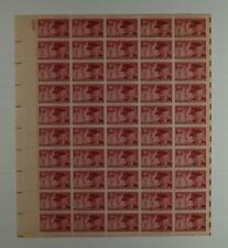 US SCOTT 985 PANE OF 50 GAR STAMPS 3 CENT FACE  MNH