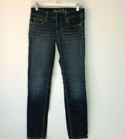 American Eagle Outfitters Size 4 Reg Jeans Stretch Skinny Denim Womens