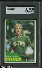 1981-82 Topps Basketball #4 Larry Bird Boston Celtics HOF SGC 6.5 EX-NM+