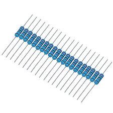 US Stock 20pcs 100K ohm Metal Film Resistor 3W +/- 1% 3 Watt High Quality