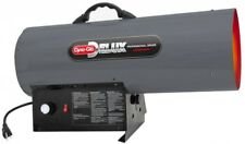 Natural Gas Portable Heater 150K BTU Adjustable Height Overheat Auto Shut-Off