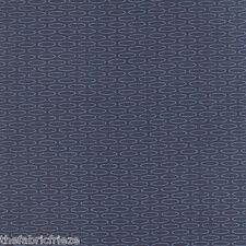 MODA Amy Ellis SERENITY Grey Geometric Gems Light Blue Quilt Fabric Fat Quarter