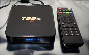 BIGFOX T95M Android 6.0 Google Internet Tv Box with Remote Control